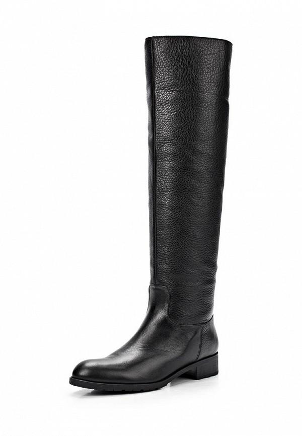 фото Женские сапоги-ботфорты Giotto GI514AWCPX33, черные кожаные