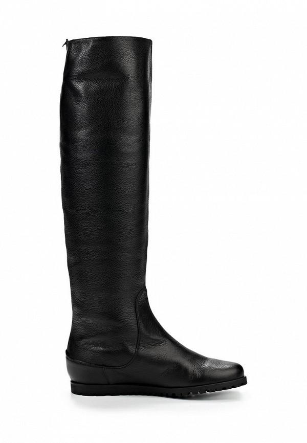 фото Сапоги женские на каблуке Giotto GI514AWCPX39, черные кожаные