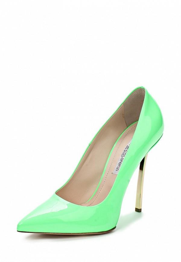 фото Туфли на шпильке Gianmarco Lorenzi GI634AWAWC82, зеленые