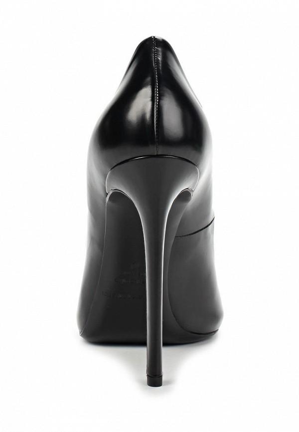 фото Туфли на шпильке Gianmarco Lorenzi GI634AWAWC89, черные кожаные