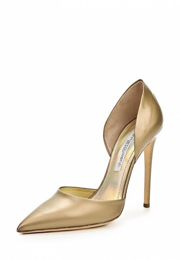 фото Туфли на высоком каблуке Gianmarco Lorenzi GI634AWBAB54, золотые