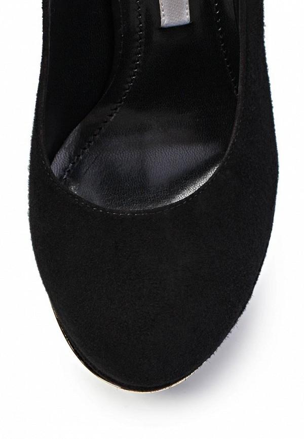 фото Туфли на платформе Gianmarco Lorenzi GI634AWIZ110, черные замшевые
