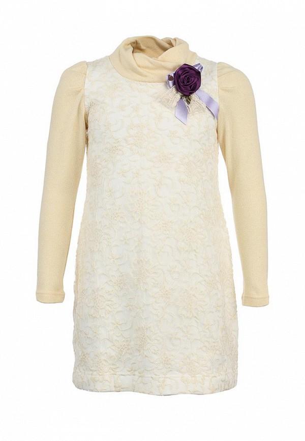 Платье Gioia di Mamma GI639EGLE518. Цвет: бежевый