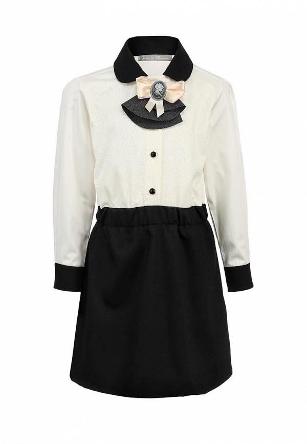 Платье Gioia di Mamma GI639EGLE534. Цвет: белый