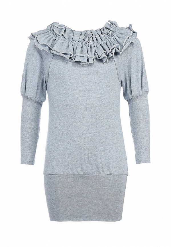 Платье Gioia di Mamma GI639EGLE537. Цвет: серый