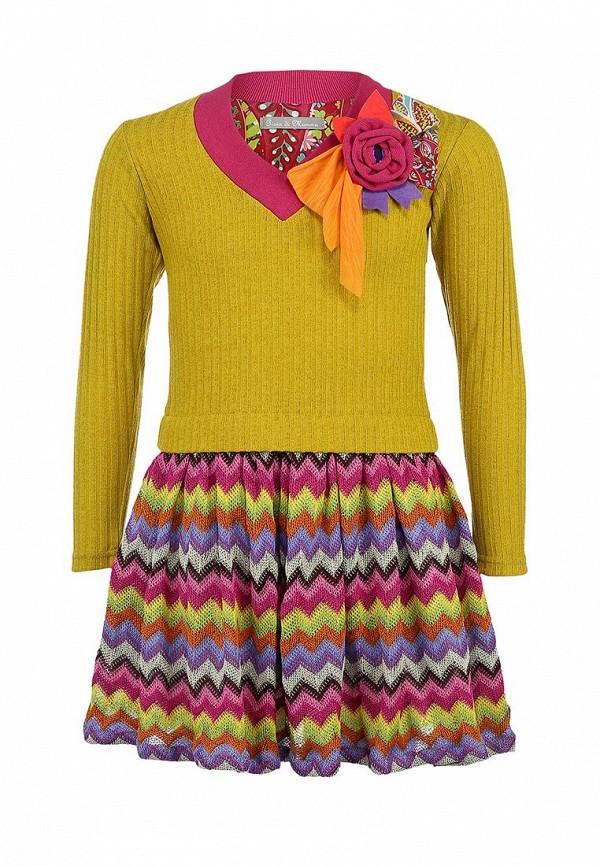 Платье Gioia di Mamma GI639EGLE538. Цвет: мультиколор