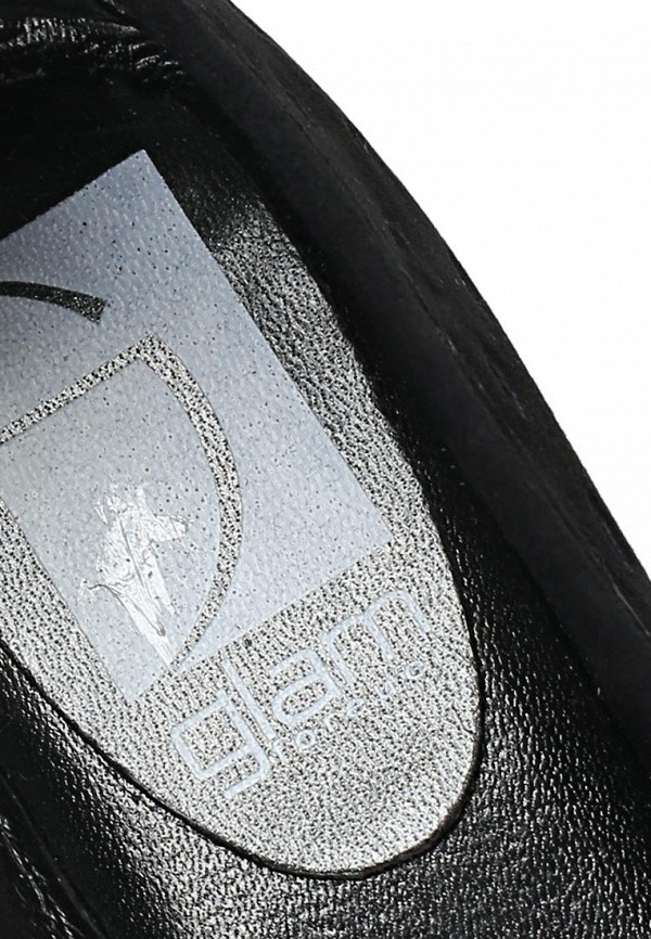 фото Балетки на каблуке GLAMforever GL854AWBIM74, черные (велюр)