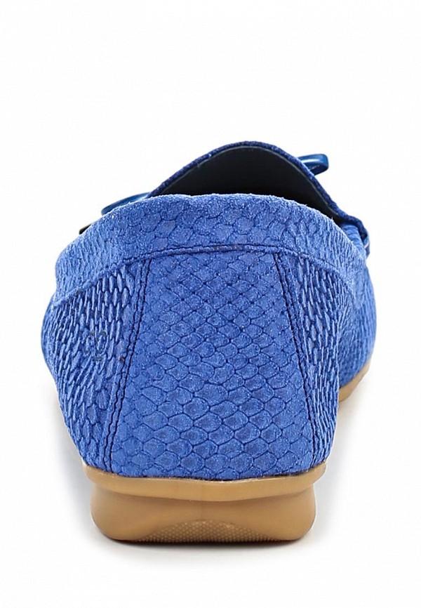 фото Мокасины женские Goergo GO643AWBEW55, синие
