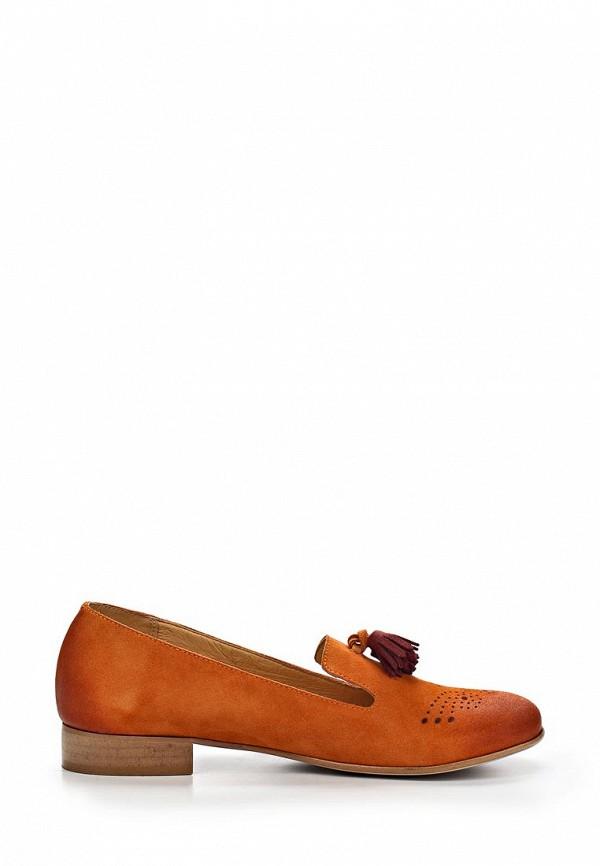 фото Лоферы женские на каблуке Goergo GO643AWBEW94, рыжие