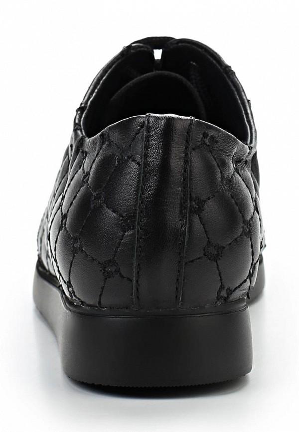 фото Полуботинки женские Grand Style GR025AWAPR27, черные кожаные