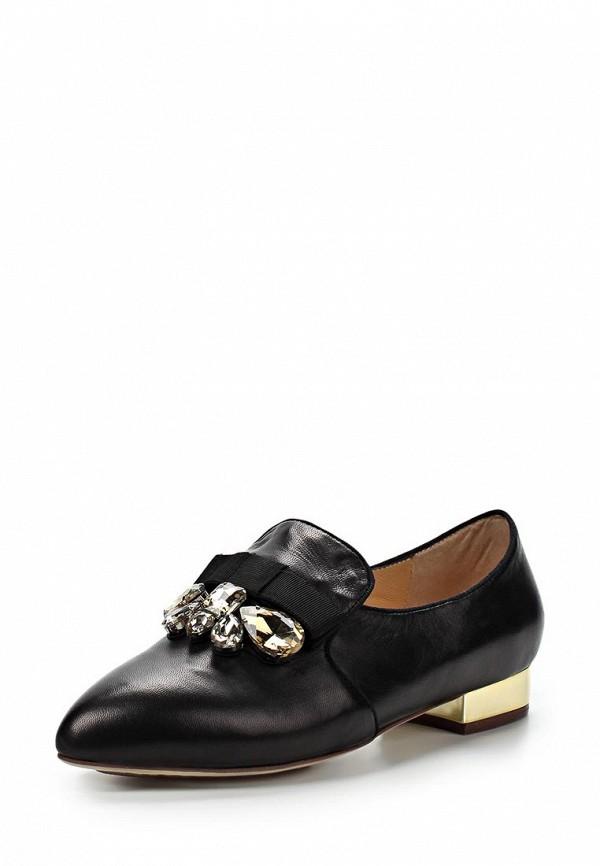 фото Лоуферы женские на каблуке Grand Style GR025AWBJA04, черные