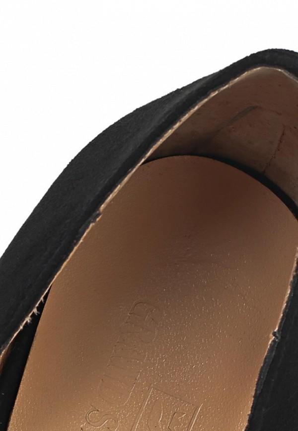 фото Туфли на толстом каблуке Grand Style GR025AWBJA11, черные/открытый мыс
