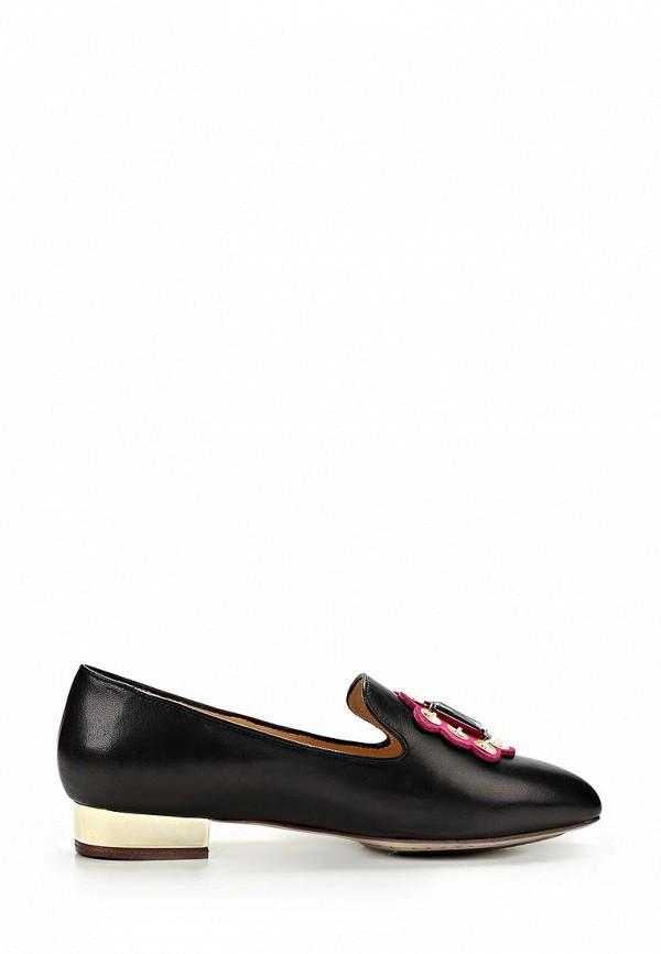 фото Лоферы женские на каблуке Grand Style GR025AWBJA37, черные