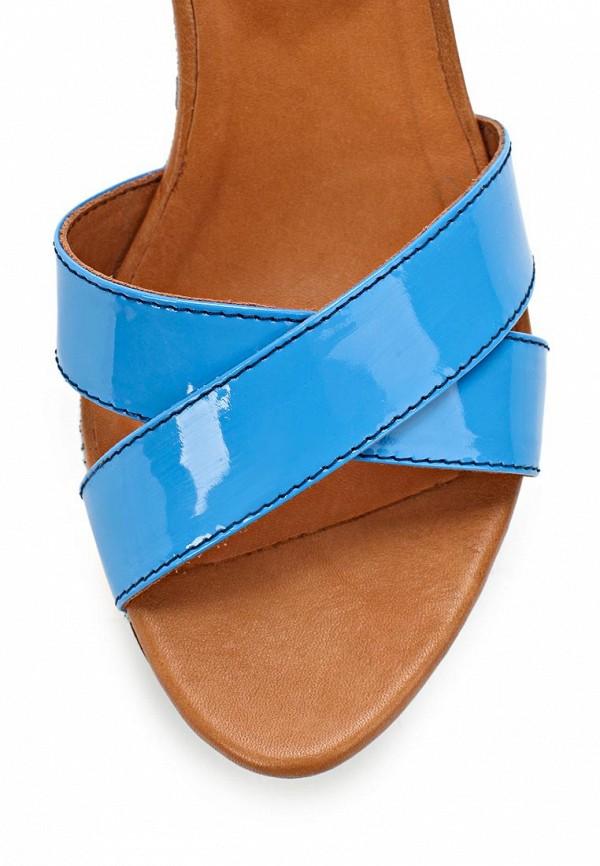 фото Босоножки на платформе Grand Style GR025AWBJA44, коричнево-голубые