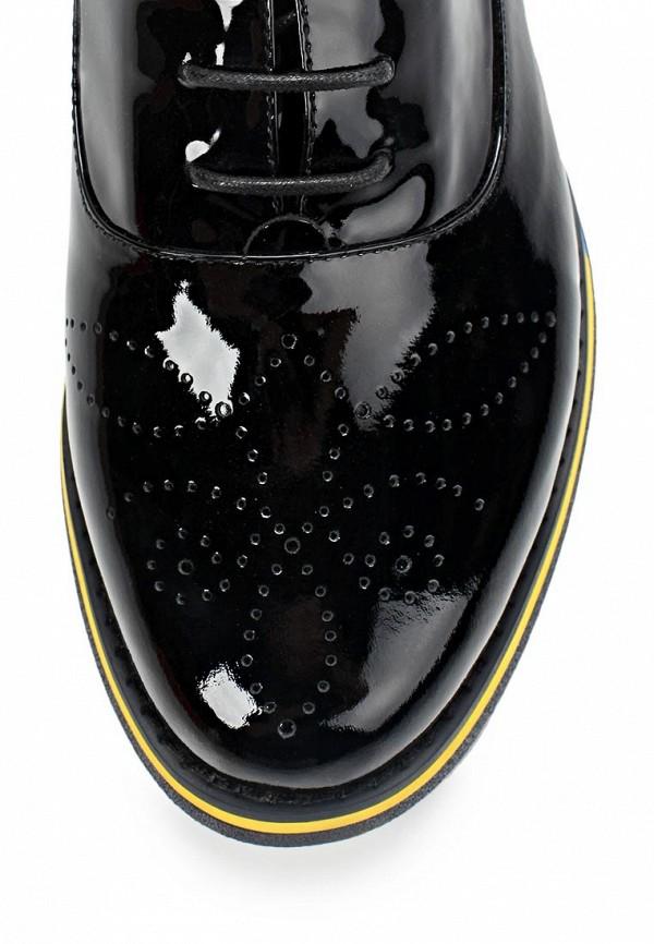 фото Полуботинки женские Grand Style GR025AWBJA63, черные (лаковая кожа)
