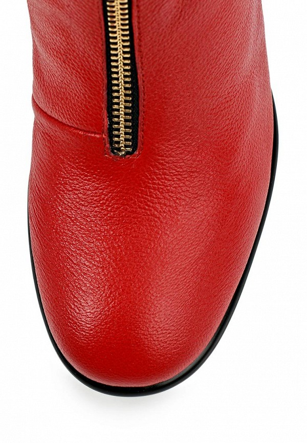 фото Женские полусапожки на толстом каблуке Grand Style GR025AWCDD75, красные