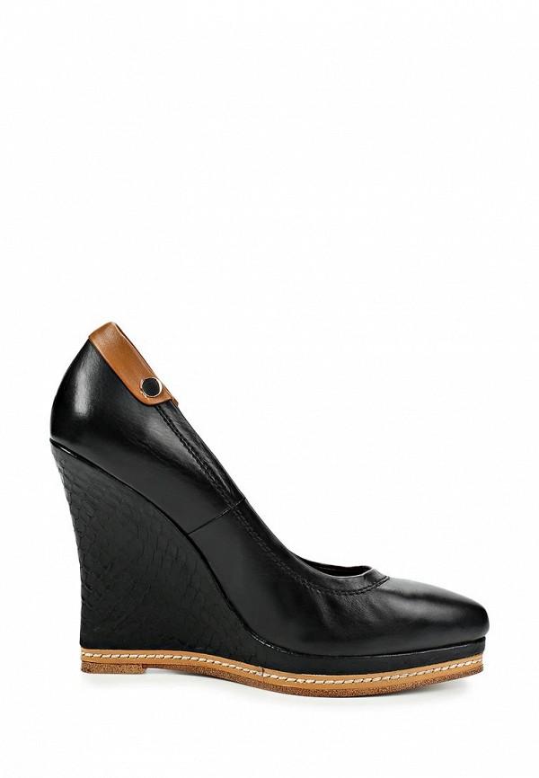 фото Туфли на танкетке Grand Style GR025AWCDD76, черные (кожа)