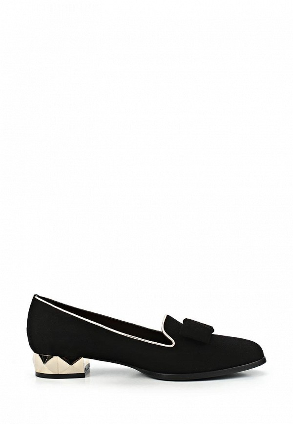 фото Лоферы на каблуке Grand Style GR025AWCDD97, черные