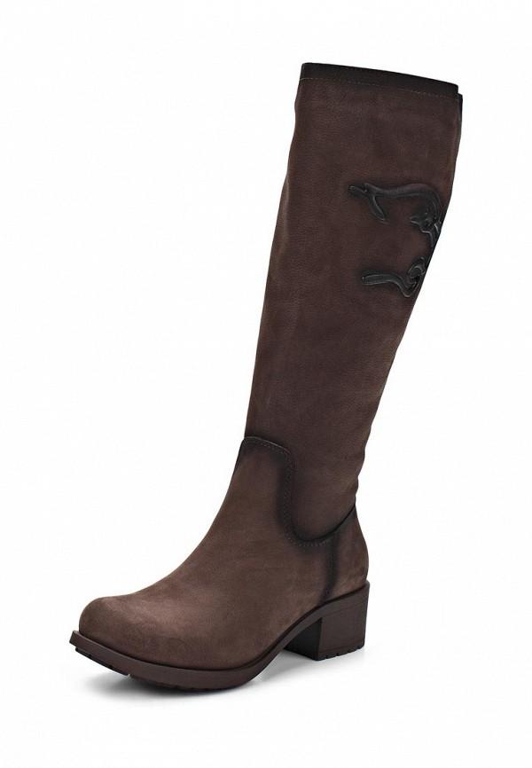 фото Сапоги женские на каблуке Grand Style GR025AWCHP41, коричневые