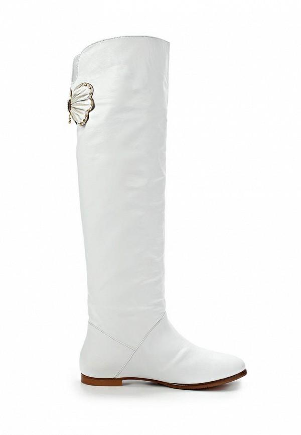фото Женские ботфорты без каблука Grand Style GR025AWCHP49, белые