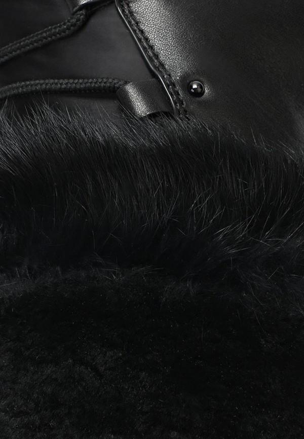 фото Сапоги женские на танкетке Grand Style GR025AWCHP56, черные (кожа)