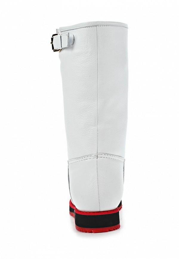 фото Сапоги женские без каблука Grand Style GR025AWCHP62, белые