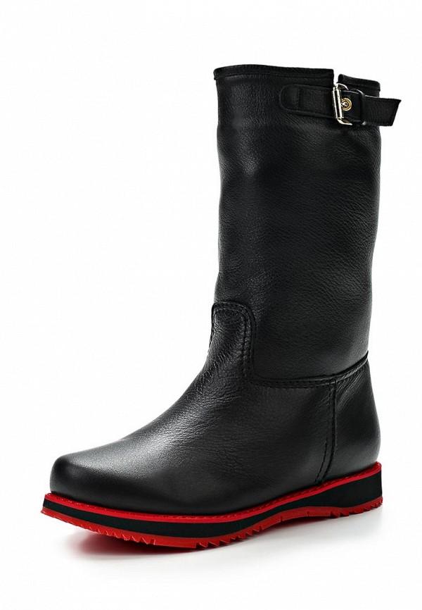 фото Женские полусапоги без каблука Grand Style GR025AWCHP63, черные