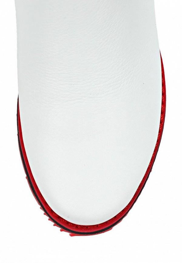 фото Женские полусапоги без каблука Grand Style GR025AWCHP64, белые
