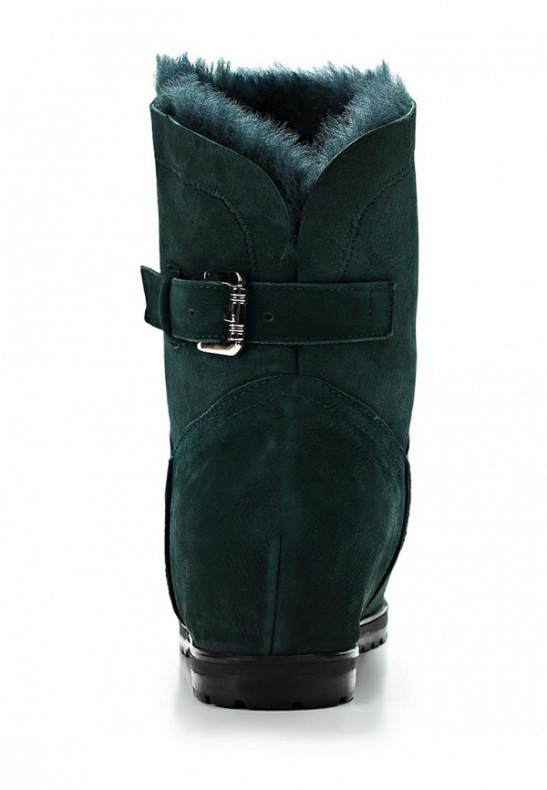 фото Женские полусапоги Grand Style GR025AWCHP70, темно-зеленые