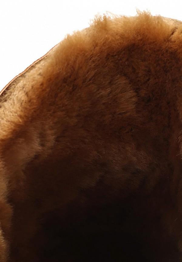 фото Сапоги женские без каблука Grand Style GR025AWCHP73, коричневые