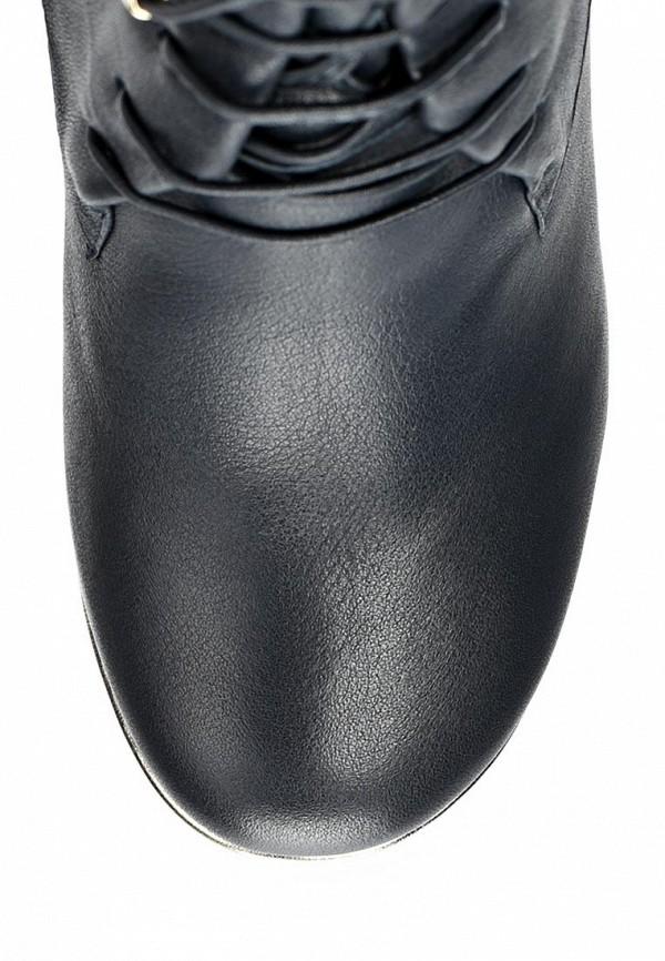 фото Сапоги женские на каблуке Grand Style GR025AWCHP87, черные со шнуровкой