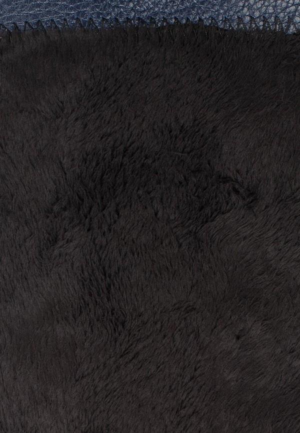 фото Сапоги женские без каблука Grand Style GR025AWCHP92, синие кожаные