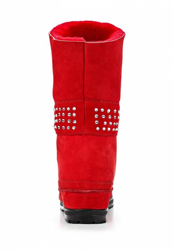 фото Женские полусапоги на платформе Grand Style GR025AWCHQ06, красные