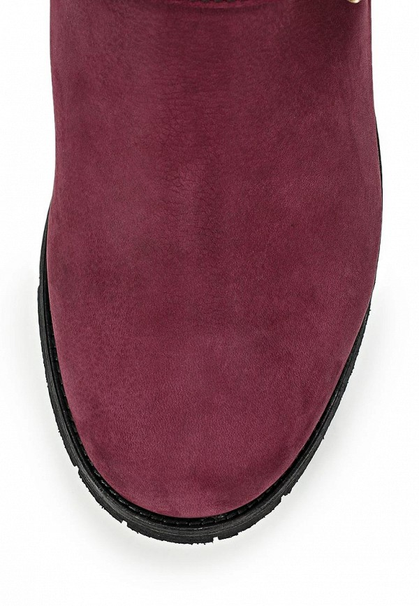 фото Женские полусапожки на каблуке Grand Style GR025AWCNP78, бордовые