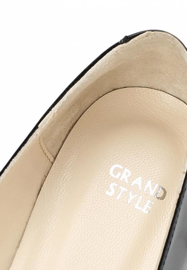 фото Балетки женские Grand Style GR025AWCNP82, черные (кожа-лак)