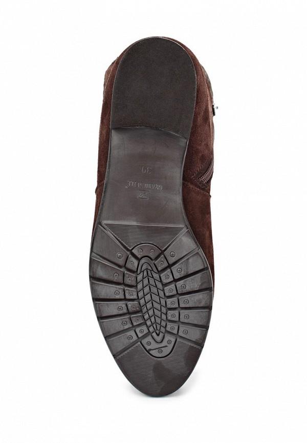 фото Женские ботфорты без каблука Grand Style GR025AWCNP95, коричневые