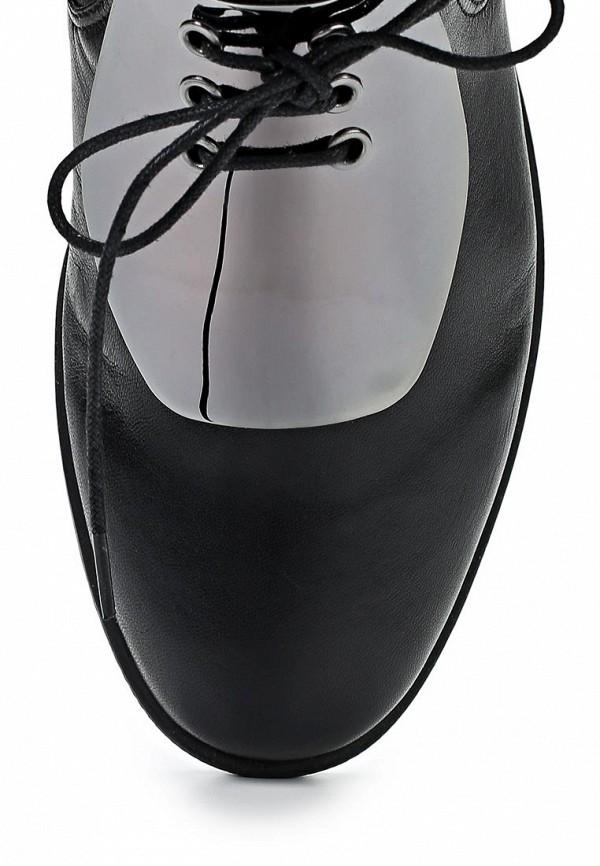 фото Женские ботфорты без каблука Grand Style GR025AWCNQ03, черные лаковые