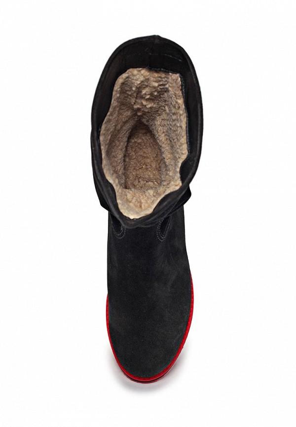 фото Сапоги женские на плоской подошве Grand Style GR025AWCV066, черные