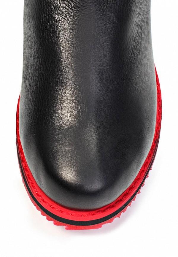 фото Женские полусапоги без каблука Grand Style GR025AWDZ582, черные