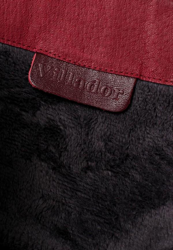 фото Женские полусапожки на каблуке Villador GR025AWKL445, бордовые