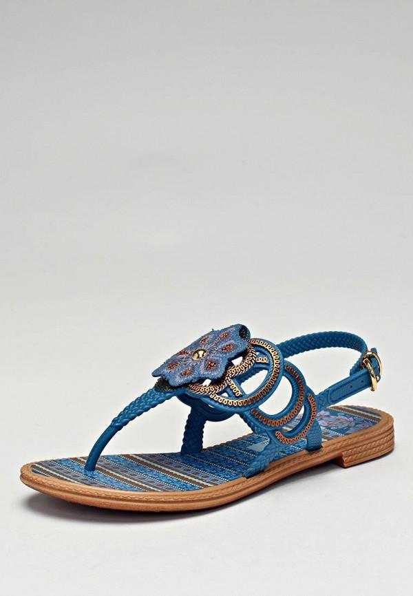 Сандалии Grendha, синий цвет