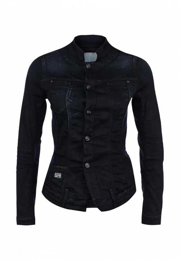 Куртка джинсовая G-Star GS001EWKH080. Цвет: синий