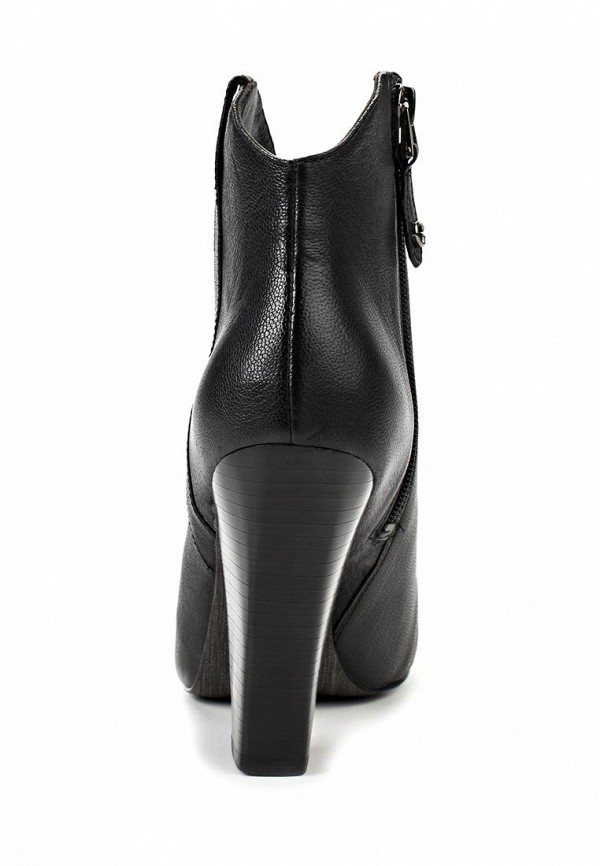 фото Ботильоны на толстом каблуке Guess GU460AWADT02, черные