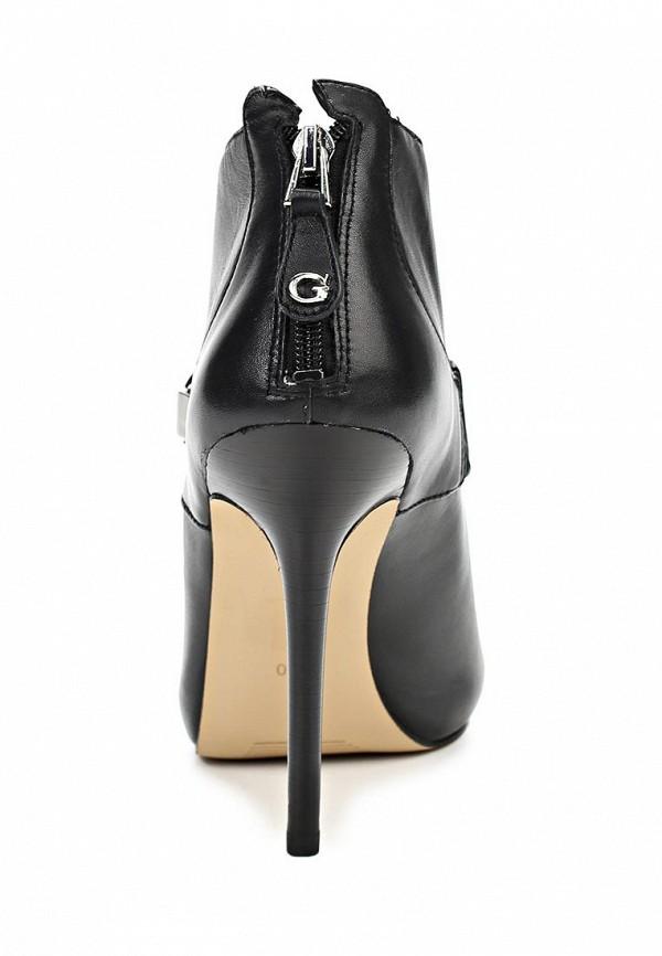 фото Ботильоны на шпильке Guess GU460AWAVW26, черные с открытым носом