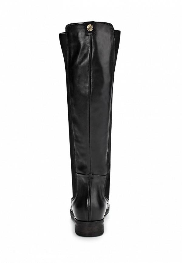 фото Сапоги женские Guess GU460AWCLU13, черные кожаные