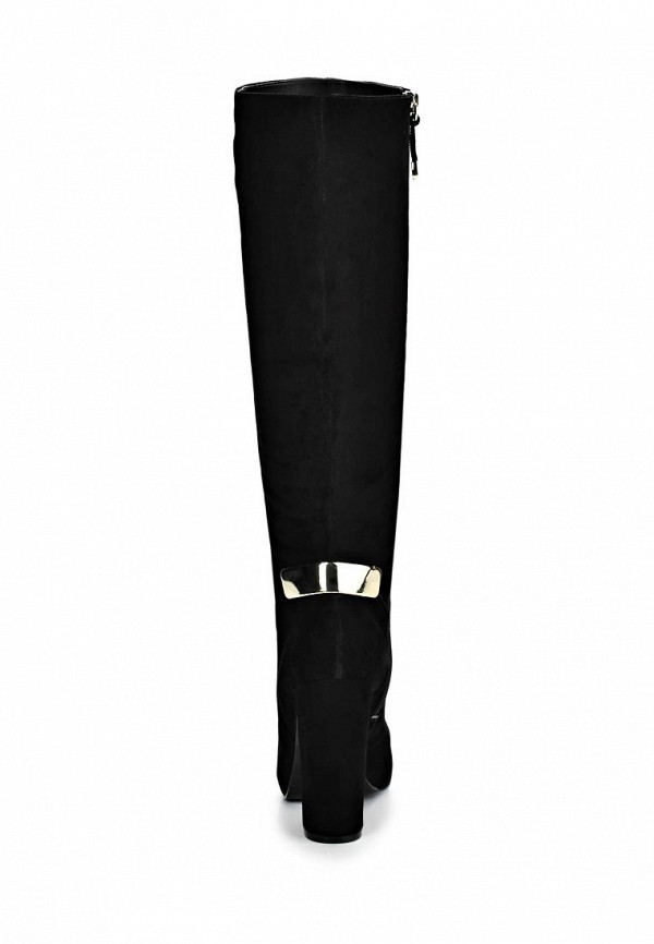 фото Сапоги женские на высоком каблуке Guess GU460AWCLU20, черные