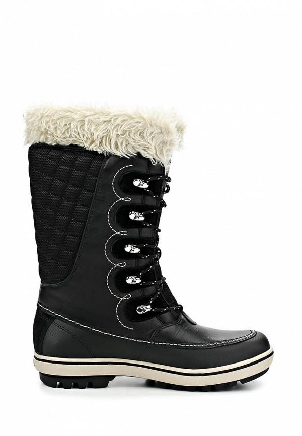 фото Сапоги женские на шнуровке Helly Hansen HE012AWCMD57, черные