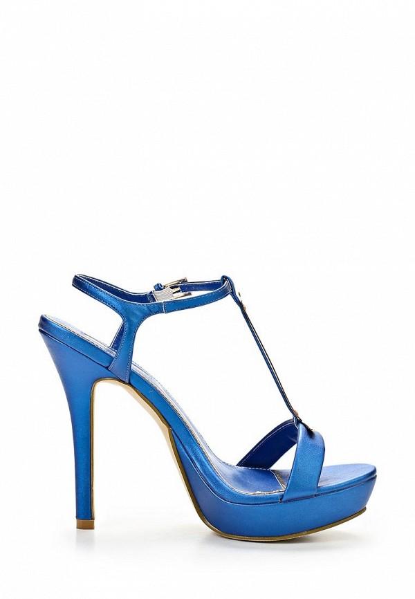 фото Босоножки на каблуке Inario IN029AWBDZ64, синие
