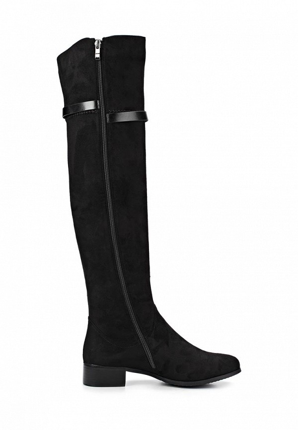 фото Женские сапоги-ботфорты Inario IN029AWCMD81, черные