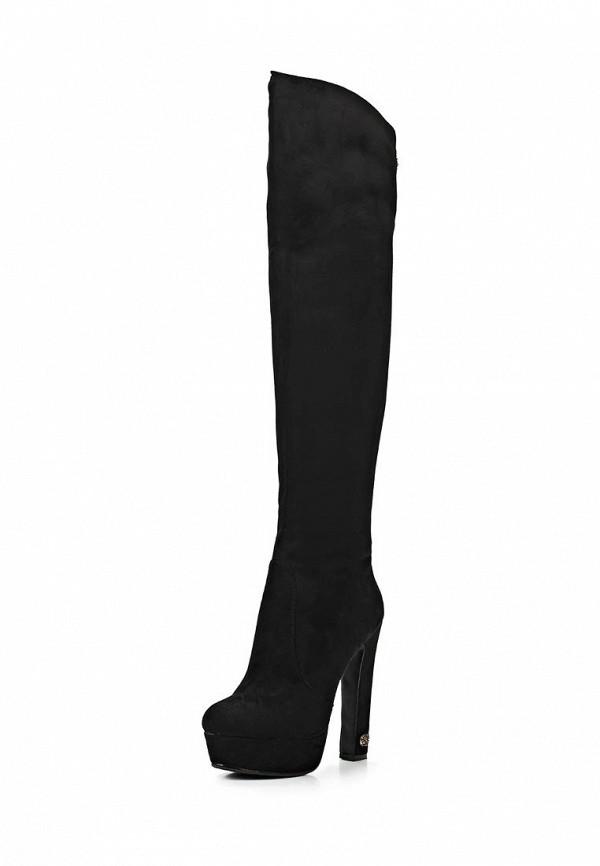 фото Ботфорты на платформе и высоком каблуке Inario IN029AWCMD90, черные
